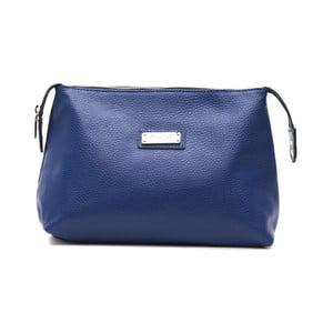 Tmavě modrá kožená kabelka Alviero Martini Maturia