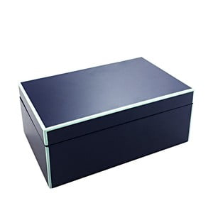 Cutie depozitare a'miou home Secreta, înălțime 8 cm, albastru