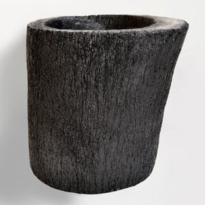 Palmový květináč Burned, 26 cm