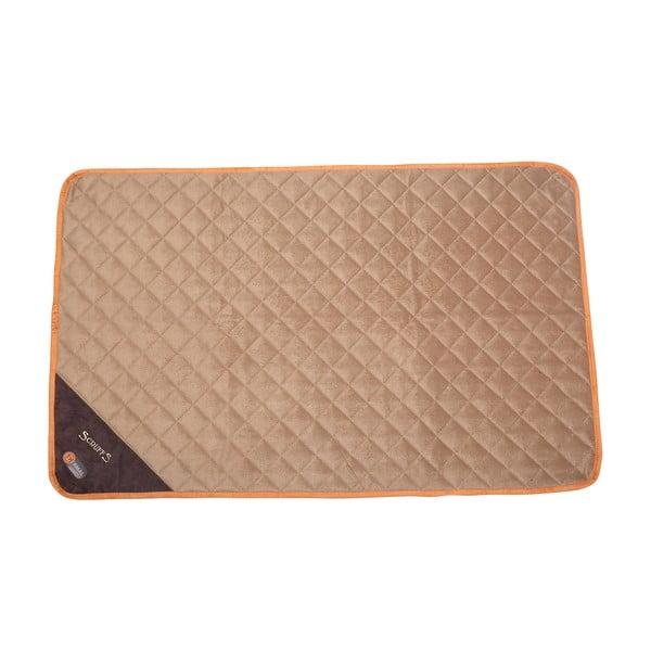 Psí termoizolační podložka Thermal Mat 120x75 cm, čokoládová