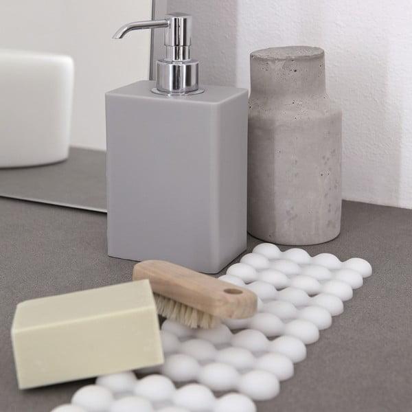 Adhezivní zásobník na mýdlo Ivasi Dispenser, světle šedý