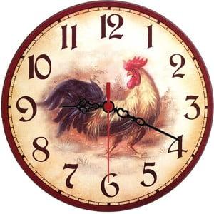 Nástěnné hodiny Rooster, 30 cm