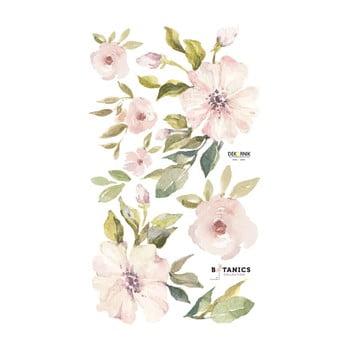 Set autocolante pentru perete Dekornik Botanix Pastel Magnolia, S imagine