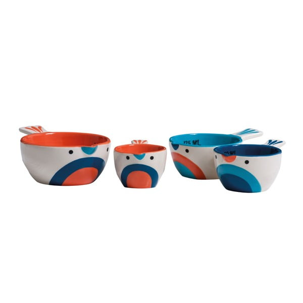 Zestaw 4 miarek Premier Housewares Pretty Things Birdy
