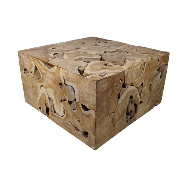Mona teakfa dohányzóasztal - HSM Collection