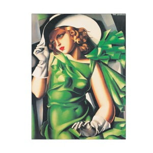 Tamara de Lempicka - Žena se zelenýma očima