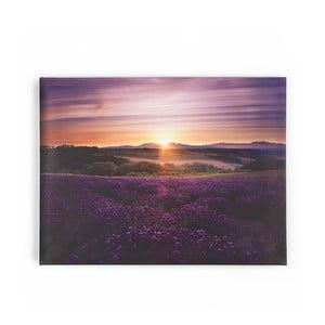 Tablou Graham & Brown Lavendar Sunset, 80 x 60 cm