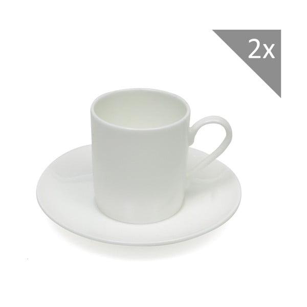 Sada dvou šálků na espresso s podšálkem 110 ml, Cashmere