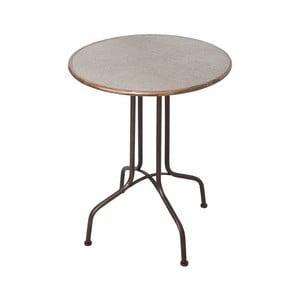 Odkládací stolek ze zinku Antic Line, ø60cm