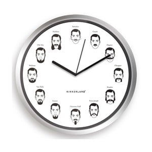 Hodiny Mustache, 20 cm