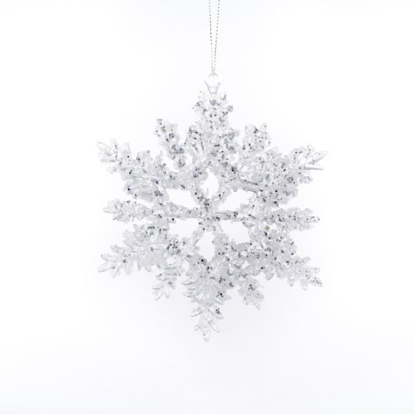Závěsná vánoční dekorace ve tvaru vločky Dakls Ellie