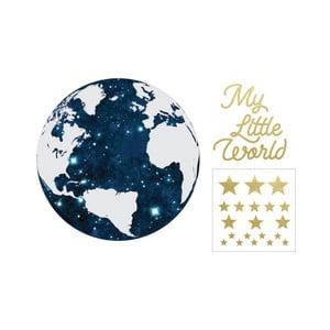 Nástěnná samolepka Dekornik My Little World Cosmo, ø115cm