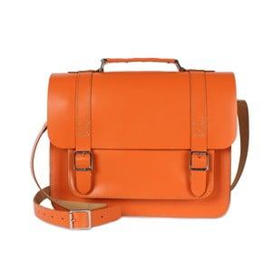 Kabelka Boho Briefcase, oranžová
