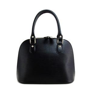 Černá kožená kabelka Giusy Leandri Marzia