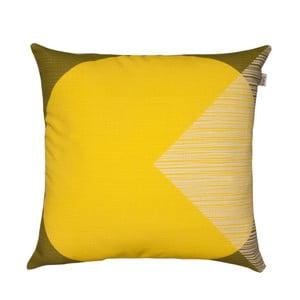 Pernă Orla Kiely OK Cushion, 45 x 45 cm, galben