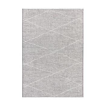 Covor adecvat și pentru exterior Elle Decor Curious Blois, 77 x 150 cm, bej antracit imagine