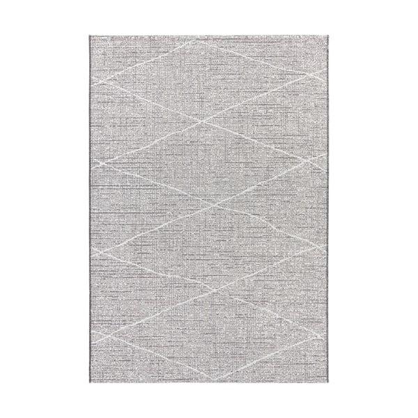 Antracitově béžový koberec vhodný do exteriéru Elle Decor Curious Blois, 77 x 150 cm