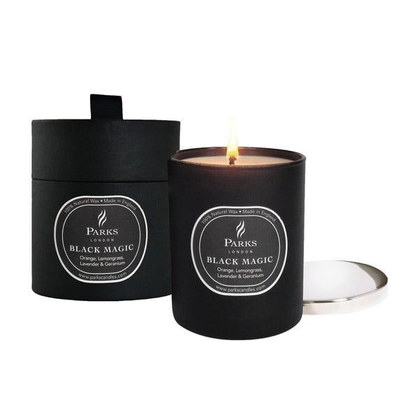 Svíčka Magic Candles, 50 hodin hoření, vůně pomeranče a citronové trávy