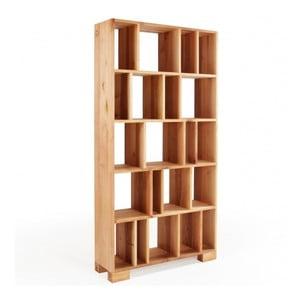 Knihovna z olšového dřeva Mazzivo R102