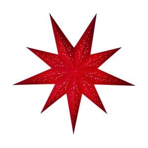 Dekorativní hvězda Rosso, 60 cm