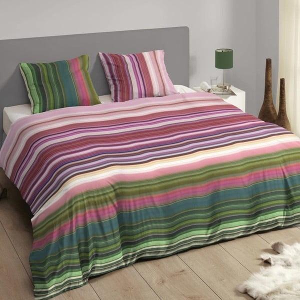 Barevné bavlněné povlečení Muller Textiel Descanso, 140 x 200 cm