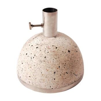Suport din granit pentru umbrelă de soare Esschert Design, greutate 11,5 kg, bej de la Esschert Design