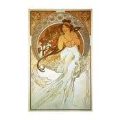 Obraz Music od Alfonse Muchy, 40x60 cm