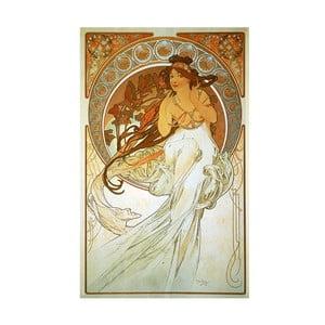 Tablou Alfons Mucha - Music, 40x60 cm