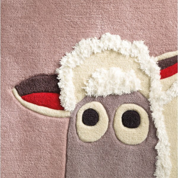 Ručně tkaný koberec Joy, 130x130 cm