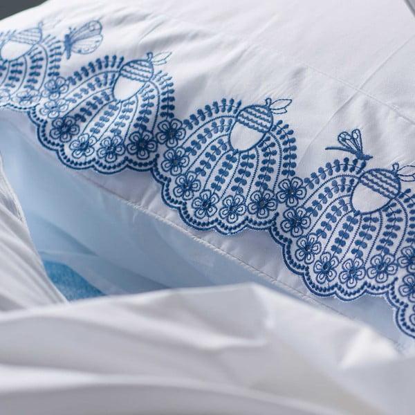 Bílé povlečení Pip Studio Acorn, 135x200 cm