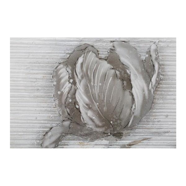 Ručně malovaný nástěnný obraz Mauro Ferretti Dipinto Su Tela High Flower, 80 x 100 cm
