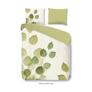Bavlněné povlečení Muller Textiel Leaves, 200 x 200 cm