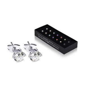 Sada 7 párů náušnic s krystaly Swarovski® GemSeller Heaven