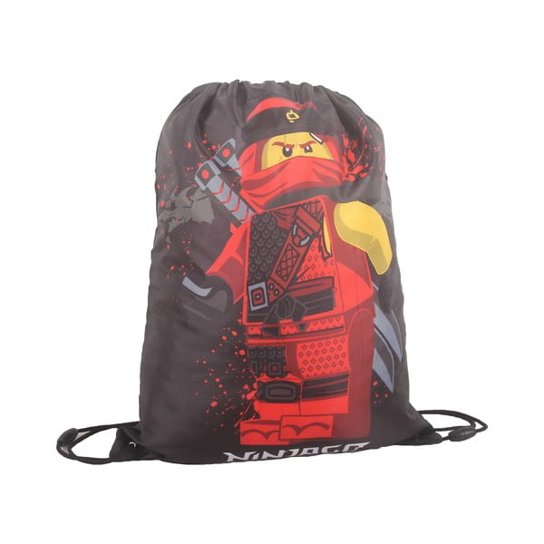 Szary worek szkolny LEGO® NINJAGO Kai