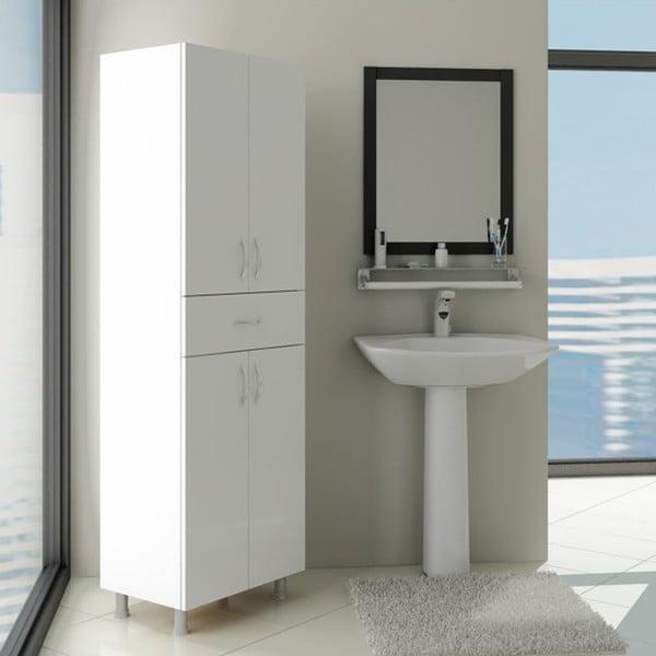 Skříň do koupelny Zambak White