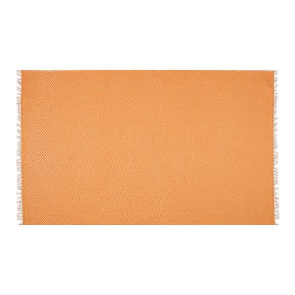Oranžový běhoun Eco Rugs Tribe, 80x300cm