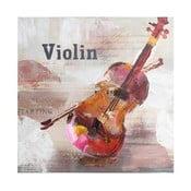 Obraz Violin, 60x60 cm