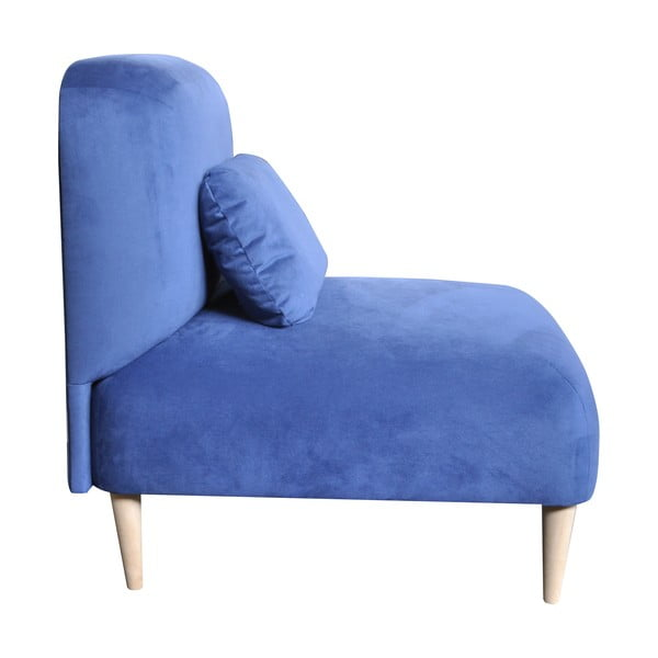 Křeslo Jupi, modré