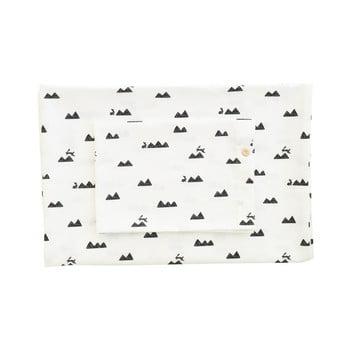 Lenjerie de pat pentru copii So Homely Mountain and Rabbits 100 x 135 cm