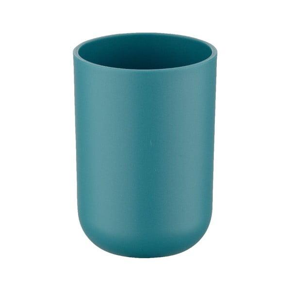 Petrolejově modrý kelímek na zubní kartáčky Wenko Brasil Petrol