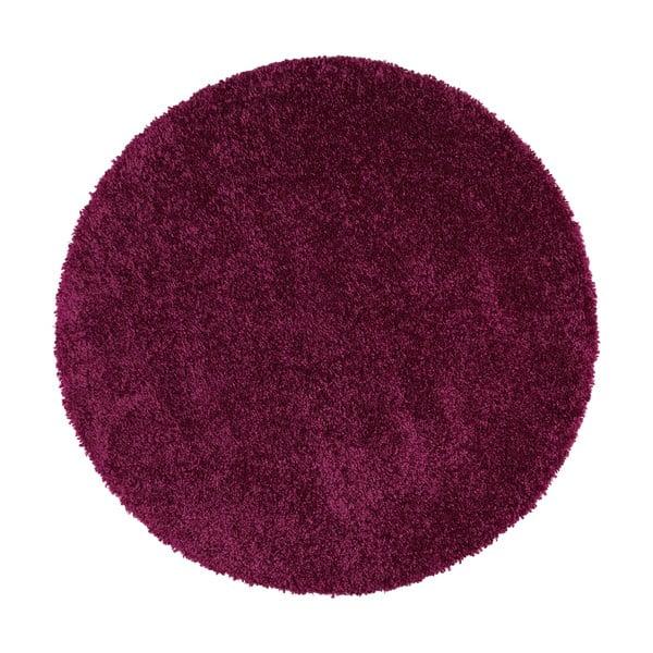 Covor rotund Universal Aqua Liso, ø 100 cm, violet