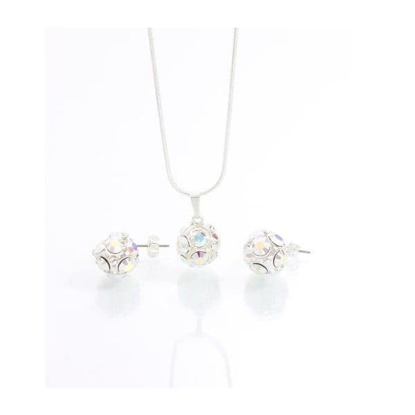 Set náhrdelníku a náušnic se Swarovski krystaly Yasmine Multi