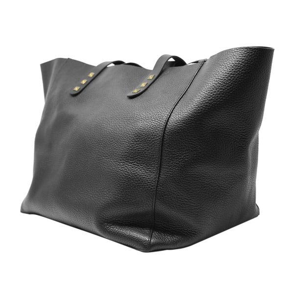 Černá kožená kabelka Maison Bag Jaqueline