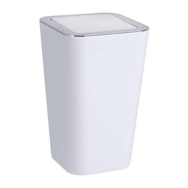 Bílý odpadkový koš Wenko Candy