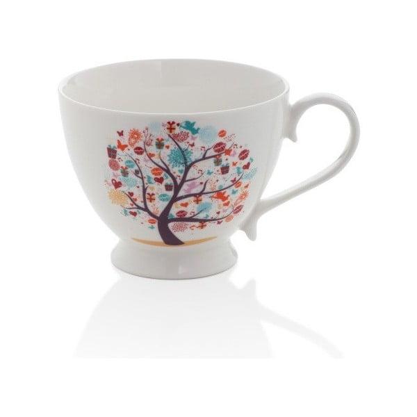 Hrnek z kostního porcelánu Sabichi Tree, 420 ml