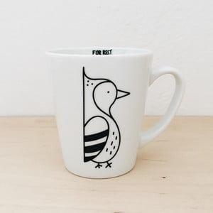 Hrnek FOR.REST Design Woodpecker, 400ml