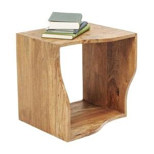 Raft din lemn sheesham Kare Design Cube Waves