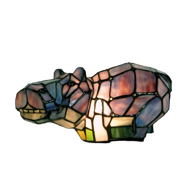 Tiffany stolní světlo Hippo