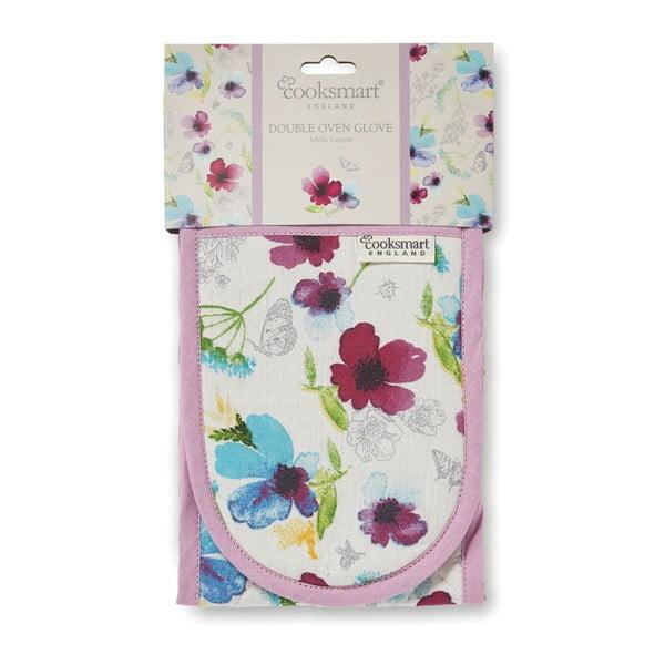 Chatsworth Floral pamut dupla konyhai edényfogó - Cooksmart ®