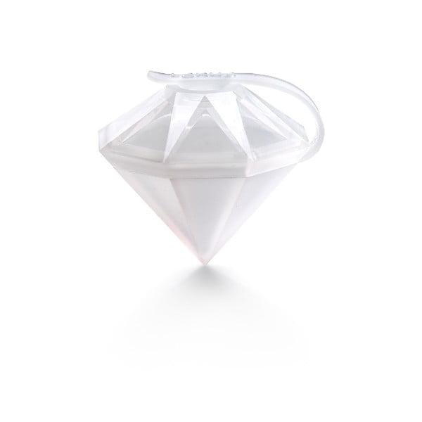 Transparentní silikonová forma ve tvaru diamantu Lékué Mold